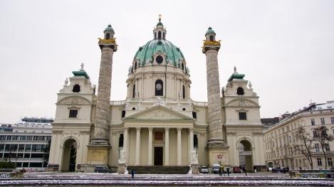 """""""Karlskirche"""" in Vienna"""